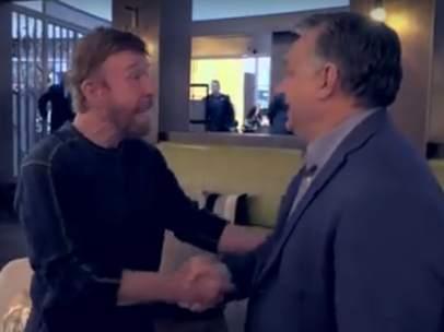 Chuck Norris y Viktor Orbán