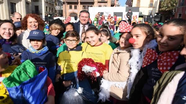 [Sevilla] Nota Y Foto Acto Dia Derechos Infancia Y Día Ciudades Educadoras