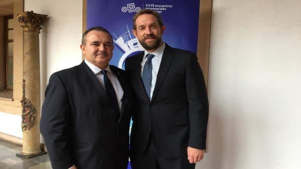 Isaac Pola y Fernando Valdés