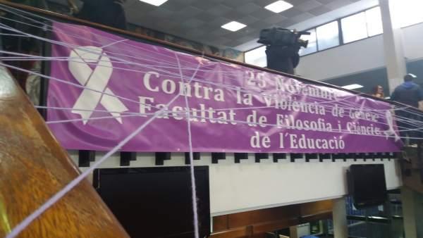 Fotos Protesta Universidad Valencia