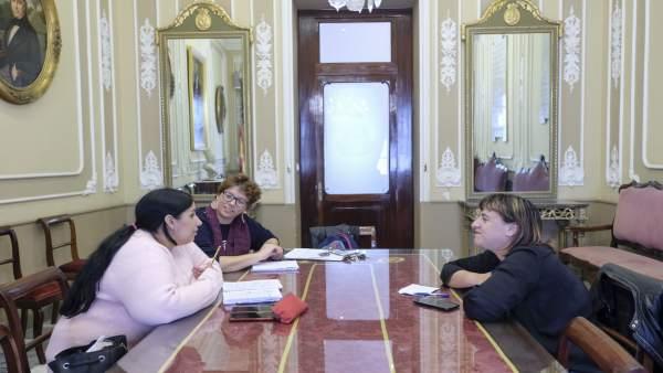 Reunión entre Ayuntamiento de Cádiz y Flampa