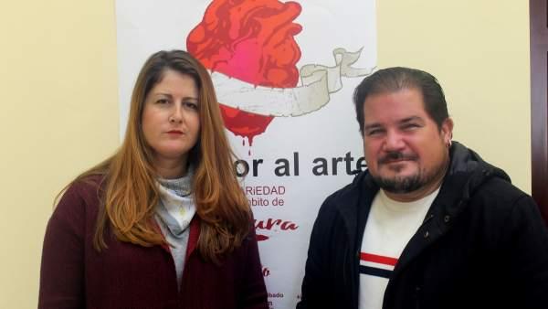 Susana Serrano con el Charro