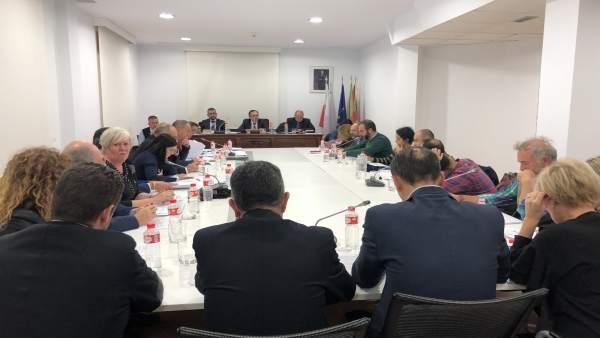 Pleno del Ayuntamiento de Torrelavega