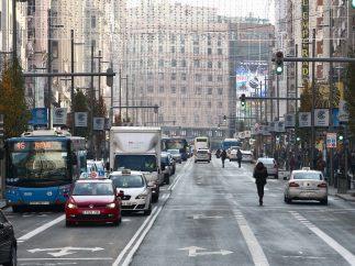 Primer día de Madrid Central