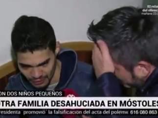 La emoción de un reportero de Telemadrid
