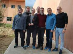 Políticos catalanes independentistas presos