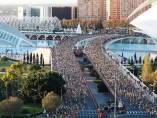 Maratón de Valencia.