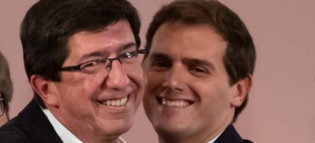 Juan Marín y Albert Rivera