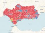 Mapa: dónde ha ganado cada partido por municipios