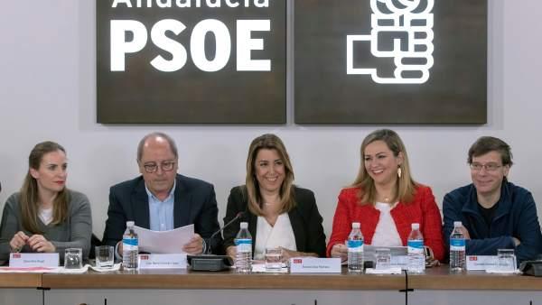 Susana Díaz en el día después de las elecciones andaluzas