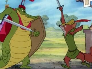 Brian Bedford en 'Robin Hood' (1973)