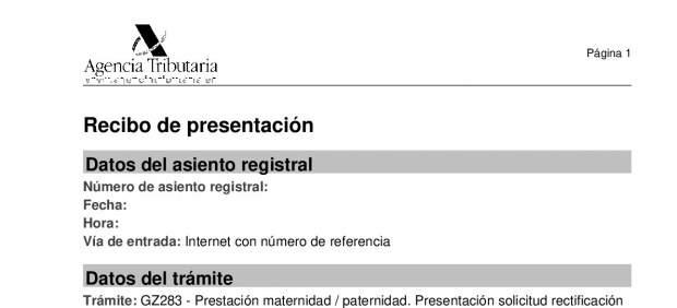 PDF de la solicitud de devolución del IRPF