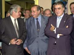 Jesús Gil, Lorenzo Sanz y Juan Onieva
