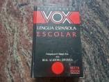 Ejemplar de un diccionario VOX