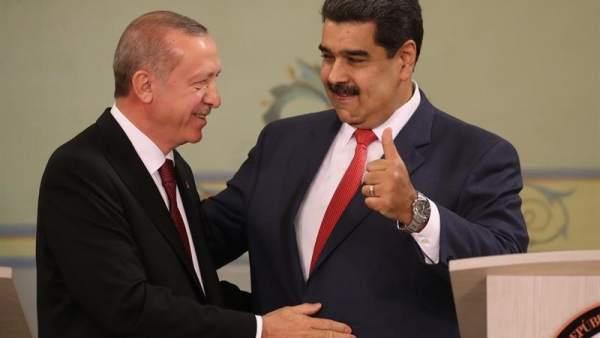 Resultado de imagen para Maduro y Erdogan