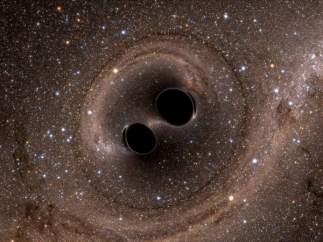 Fusión de agujeros negros