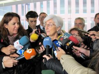 La fiscal general del Estado María José Segarra