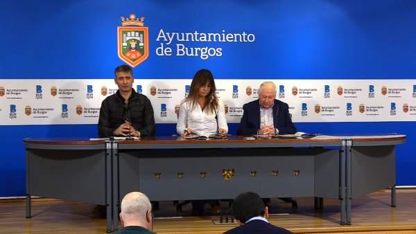 Presentaciónd e la guía de comercio local y sostenible de Burgos
