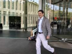 Oriol Pujol sale de la Ciudad de la Justicia (ARCHIVO)