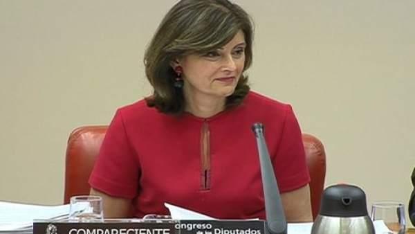Ana Botella Gómez, secretaria de Estado de Seguridad