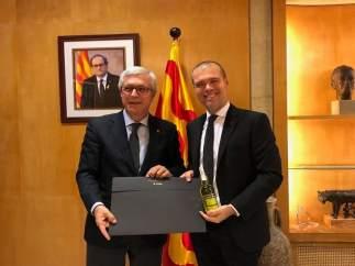 Josep Fèlix Ballesteros y Josep Maria Cruset