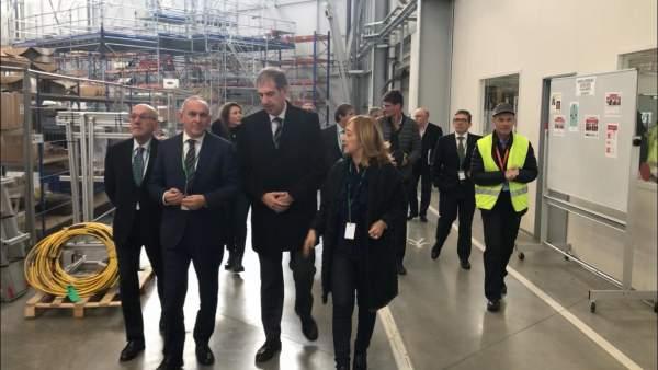 Visita a las instalaciones de Airbus