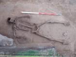 El esqueleto sin manos descubierto en la isla de Guernsey