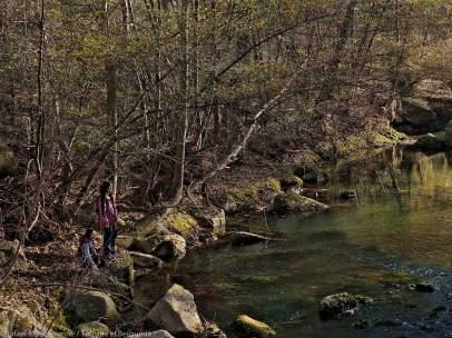 Imagen del río Llobregat, donde actuaba el agresor.