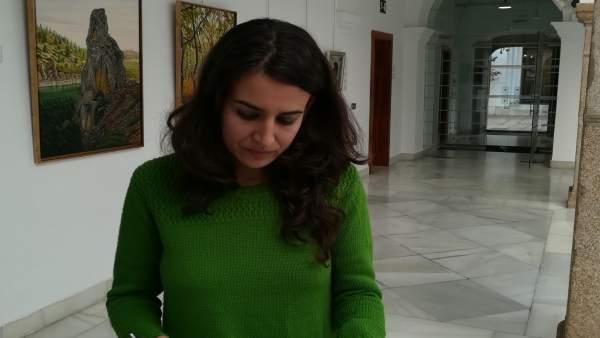 Irene de Miguel este miércoles en la Asamblea
