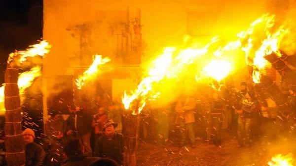 Fiesta de Los Escobazos de Jarandilla de la Vera