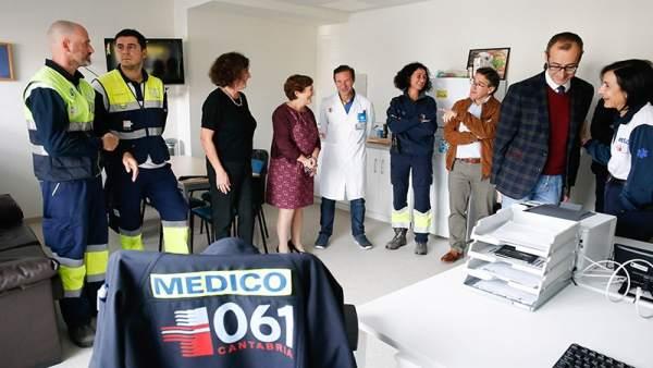 Real ha visitado hoy las instalaciones del nuevo SUAP de Los Castros