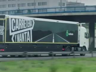 El camión de 'Carretera y manta'.