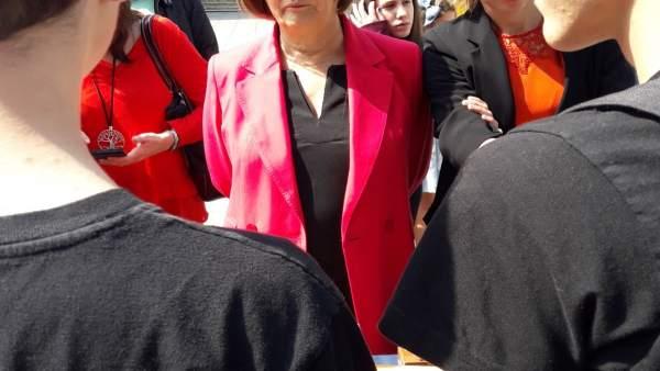 La alcaldesa de Avilés, Mariví Monteserín