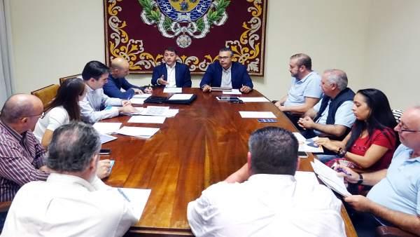 Reunión de la Mesa del Taxi