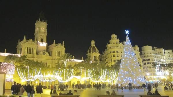 Iluminación Navideña, Navidad