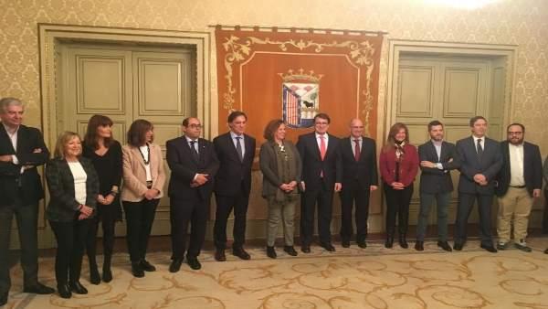 Salamanca.- Equipo de Gobierno del Ayuntamiento de Salamanca