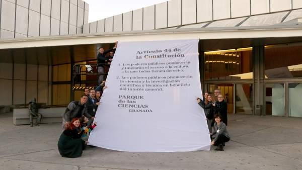 Artículo 44 de la Constitución en el Parque de las Ciencias