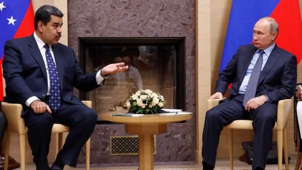 Putin y Maduro