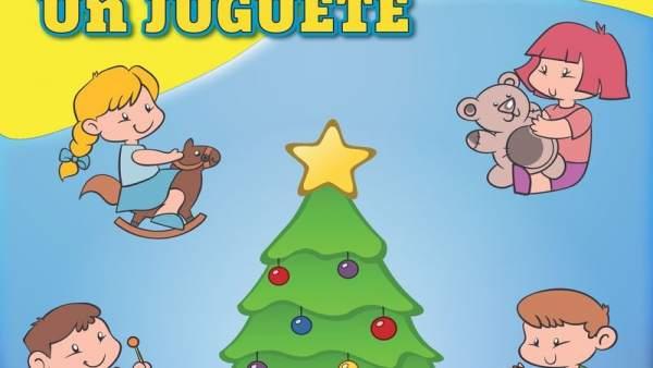 Cartel iniciativa Ayuntamiento Cartajena 'Un juguete, una sonrisa'