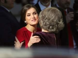 La Familia Real en el 40 aniversario de la Constitución