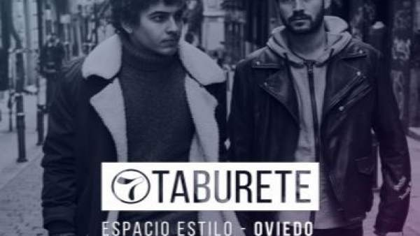 Taburete estará en Oviedo el 27 de diciembre.