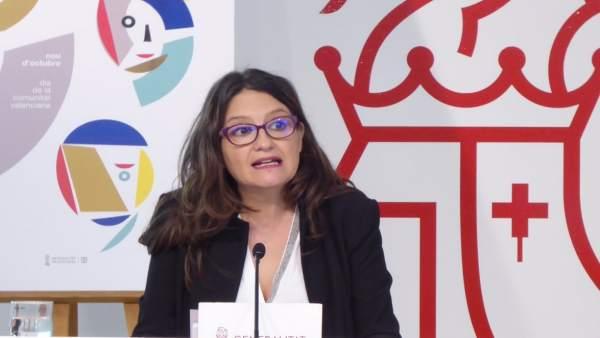 Mónica Oltra en una imagen reciente