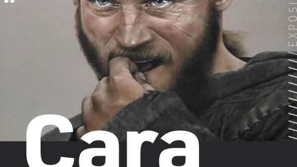 Valladolid.- Cartel expo 'Cara a cara' de Laura Serrano