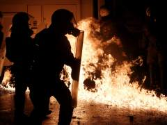 Disturbios en Atenas