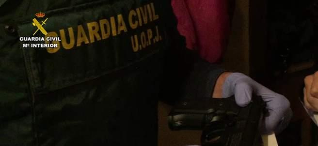 Operación de la Guardia Civil en Almería