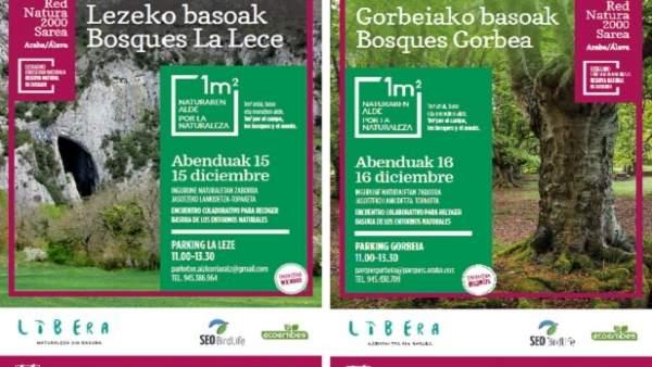 Campaña para la limpieza de entornos naturales