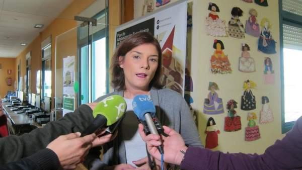 Directora general del IMEX, Elisa Barrientos