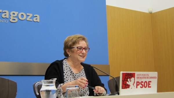La concejal del PSOE Lola Campos.
