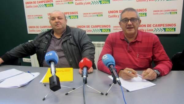 Juan Antonio Rodríguez (izda) y Nacho Arias.
