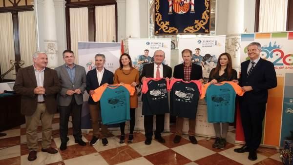 Presentación del Zúrich Maratón de Málaga